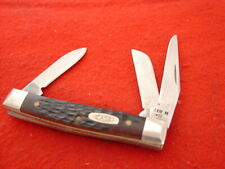 "Case XX USA 63033 SS 3 Blade 2-3/4"" stockman Delrin 1989 stock knife"
