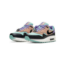 NIKE AIR MAX 1 NK DAY (GS) BLACK/WHITE-SPACE PURPLE [AT8131-001] US SZ 5Y
