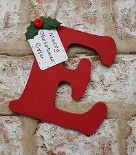 Personalised Christmas decoration - handmade hanging letter tree decoration