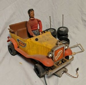 Rare Vintage JEROBEE Archie's Jughead Jalopy RC Remote Control Car with Extras