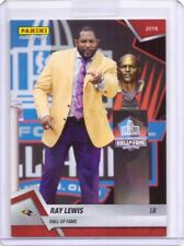 2018 Panini Instant #10 Ray Lewis Hall of Fame Football Card - Only 61 made!