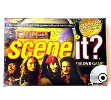 Disney Pirates of the Caribbean Scene it Mattel The DVD game Sealed