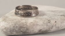 Coin Ring  - Crafted from British Sixpence
