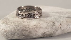 Coin Ring  - Crafted from British Sixpence Let me know your size and date.