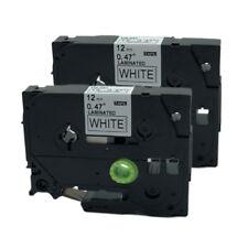 6X Label Tape TZe231-TZe731 12mm 8m Schriftband für Brother P-Touch PT-D600 H100