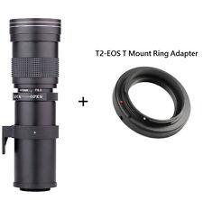 Professional 420-800mm F/8.3-16 Telephoto Zoom Lens For Canon Nikon DSLR Camera