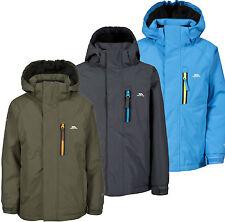 Trespass Feldman Boys Waterproof Fleece Lined Jacket