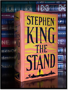The Stand by Stephen King New Sealed Illustrated Leather Bound Gift Hardback