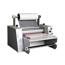 Pro 14'' Hot Roll Laminating Machine Hot Cold Laminator Roll Laminating Machine