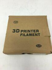 Spool of PLA 3D Printer Filament, 1.75mm, Silver