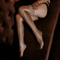 Stockings Women Shiny Sexy Oil Pantyhose 70D Glossy Non-slip Satin