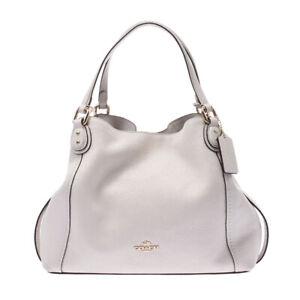 COACH Handbag Ivory 57124 bags 805000937859000