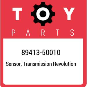 89413-50010 Toyota Sensor, transmission revolution 8941350010, New Genuine OEM P