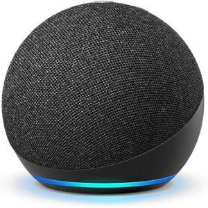 "Amazon - Echo Dot (4th Gen) Smart speaker w/Alexa - Charcoal NEW and ""SEALED"""