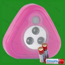 Bombillas de interior LED rosas sin marca