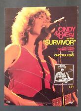 CINDY BULLENS - Desire Wire Rare Original Poster Ad