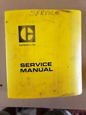 Caterpillar Cat 966 Wheel Loader Service Manual Reg00484 30k 25u 42j 76j 78g