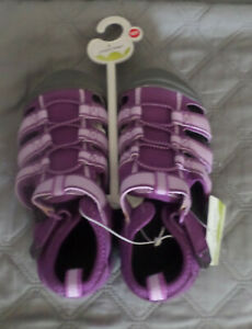 NIP Jumping Beans Bump Toe Sport Sandals Purple10 TODDLER