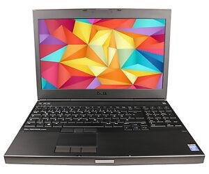 Dell Precision M4800 Core i7-4810MQ A-WARE 32GB 256GB SSD 1920x1080 DVDRW K1100M