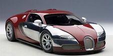 1:18 Autoart #70957-Bugatti Eb Veyron 16.4 Rojo Vino / Cromo