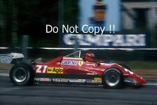 Gilles Villeneuve Ferrari 126 C2 Belgian Grand Prix 1982 Photograph 3