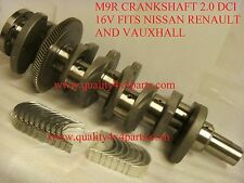 RENAULT TRAFFIC ESPACE NISSAN 2.0DCi  M9R BRAND NEW CRANKSHAFT STD WITH BEARINGS