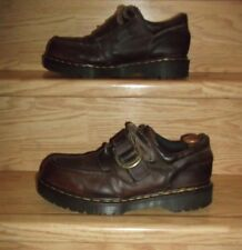 Dr Martens air Wair  leather shoes, brown,oil, fat, petrol, alkali resistant, 11