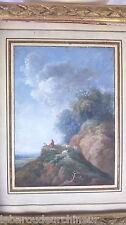 peinture Gouache 19 -18èmes SUPERBE