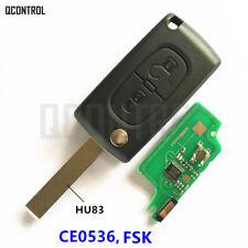 Car Remote Key Suit PEUGEOT 207 208 307 308 408 Partner (CE0536 FSK) HU83  2 BT