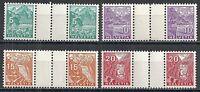 Switzerland stamps  Zst S43-S46  MNH/MLH  VF