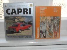 Old Ford Capri Car Books Ford Classic Capri Capri GT Autobooks 1961 - 64 Haynes