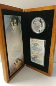 2006 Peregrine Falcon Limited Edition $2 Stamp & $5 Coin Set