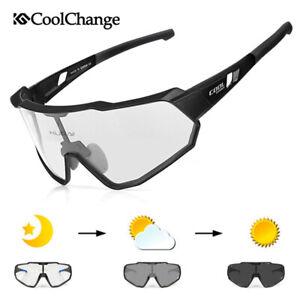 Outdoor Photochromatic Cycling Sports Glasses Sunglasses Eyewear Goggles UV400