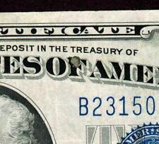 ( Error ) $10 1934 C Silver Certificate ( Small Ink Error )Currency Auctions