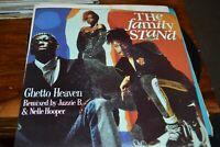 """THE FAMILY STAND    GHETTO HEAVEN   12""""  SINGLE  ATLANTIC RECORDS  A 7997T 1990"""