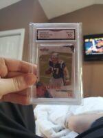 2010 Score Rob Gronkowski New England Patriots #383 Football Card Mint 10