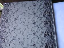 Grau nichtelastisch 30cm 0,5 Meter elegante Spitze Borte tolle angebot selten
