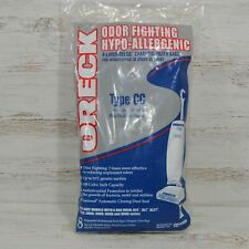 Oreck Type CC Hypo-Allergenic Charcoal Filter Vacuum Bags Qnty of 8