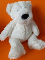 The Little White Company White Bear Teddy Soft Hug Toy Comforter Approx 11""