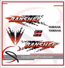 Yamaha Banshee Decals 1997 Reproduction Yellow Model Full Set Custom Design