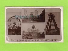 More details for demolition earl's court wheel london fairground exhibition rp pc used ref c133