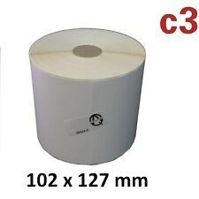 Rolle à 690 Stück für Zebra,Citizen,TSC usw 102 x 102 mm GELB Thermoetiketten