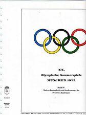 Sammlung Belege Olympiade 1972 - 116 Belege /16 Marken u. 2 Blocks  ( Z321 )