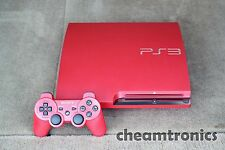 Sony PlayStation 3 Slim - 320GB - Scarlet Red Console - NTSC-J - Japan Limited