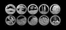 2012 + 2013 S America the Beautiful National Parks Silver Mint Proof Set