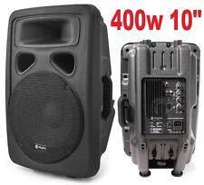"""CASSA ATTIVA AMPLIFICATA 400W 10"""" FULL-RANGE IN PLASTICA 2 VIE diffusore monitor"""
