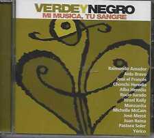 Verde Y Negro - Mi Musica, Tu Sangre CD 2013