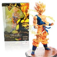 "Dragon Ball Z Super Saiyan Son Goku PVC 15cm/ 6"" Anime Figure Collection Kid Toy"