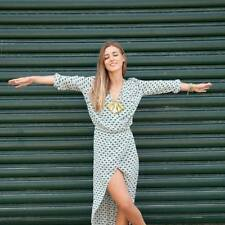 Gorgeous SASS & BIDE SELF PORTRAIT 100% SILK Maxi Dress 40/10 NEW BEAUTIFUL!!