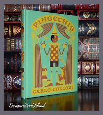 Pinocchio by Carlo Collodi Illustrated New Sealed Leather Bound Collectible Gift